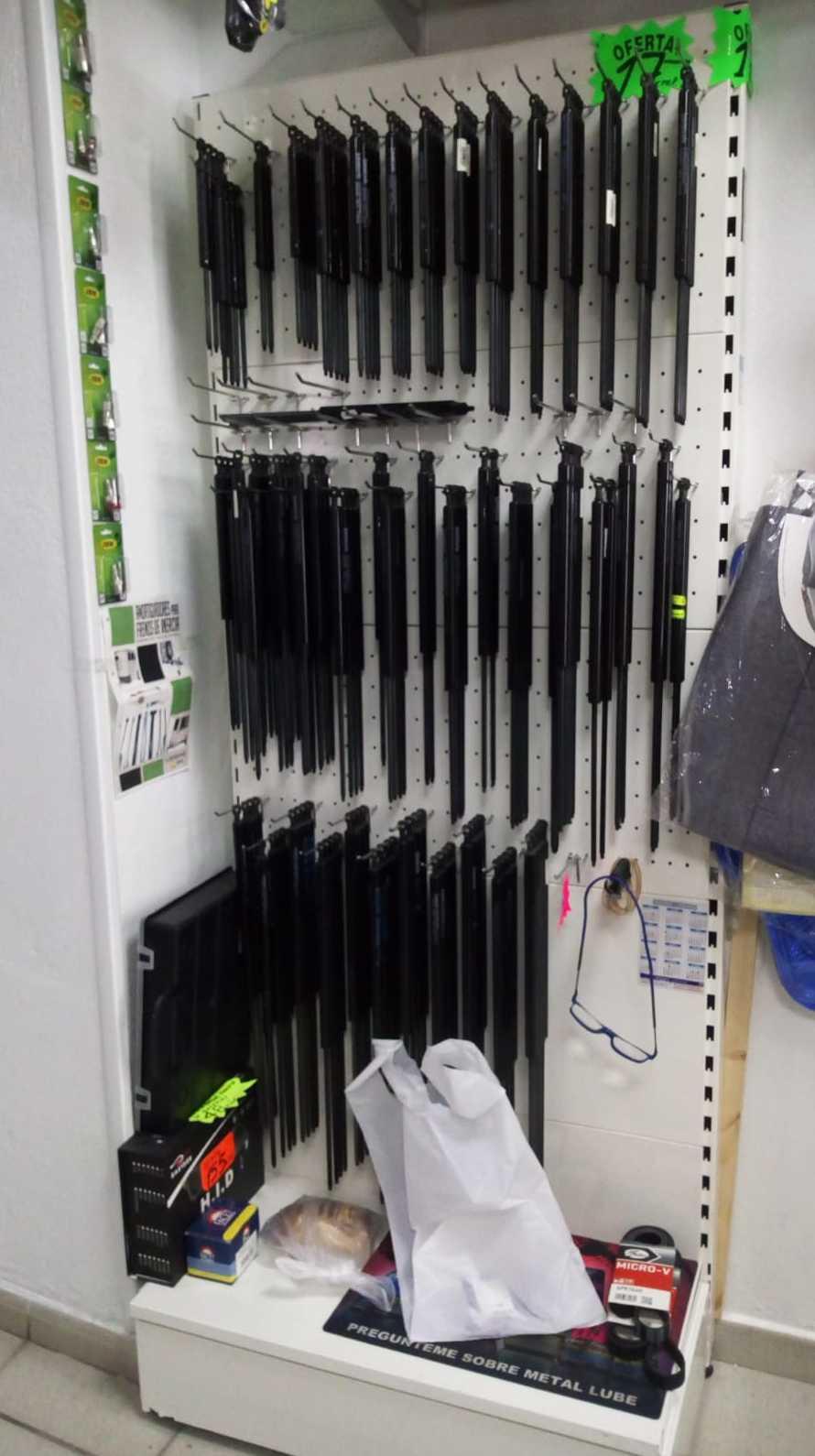 Gran surtido en amortiguadores de portón y capot