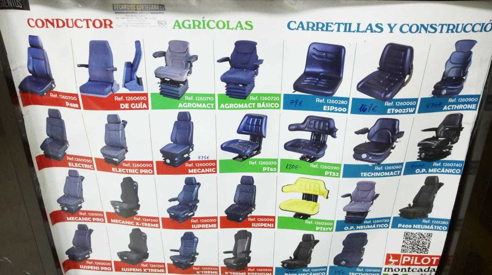 ASIENTOS INDUSTRIALES MONTCADA. DISTRIBUIDOR