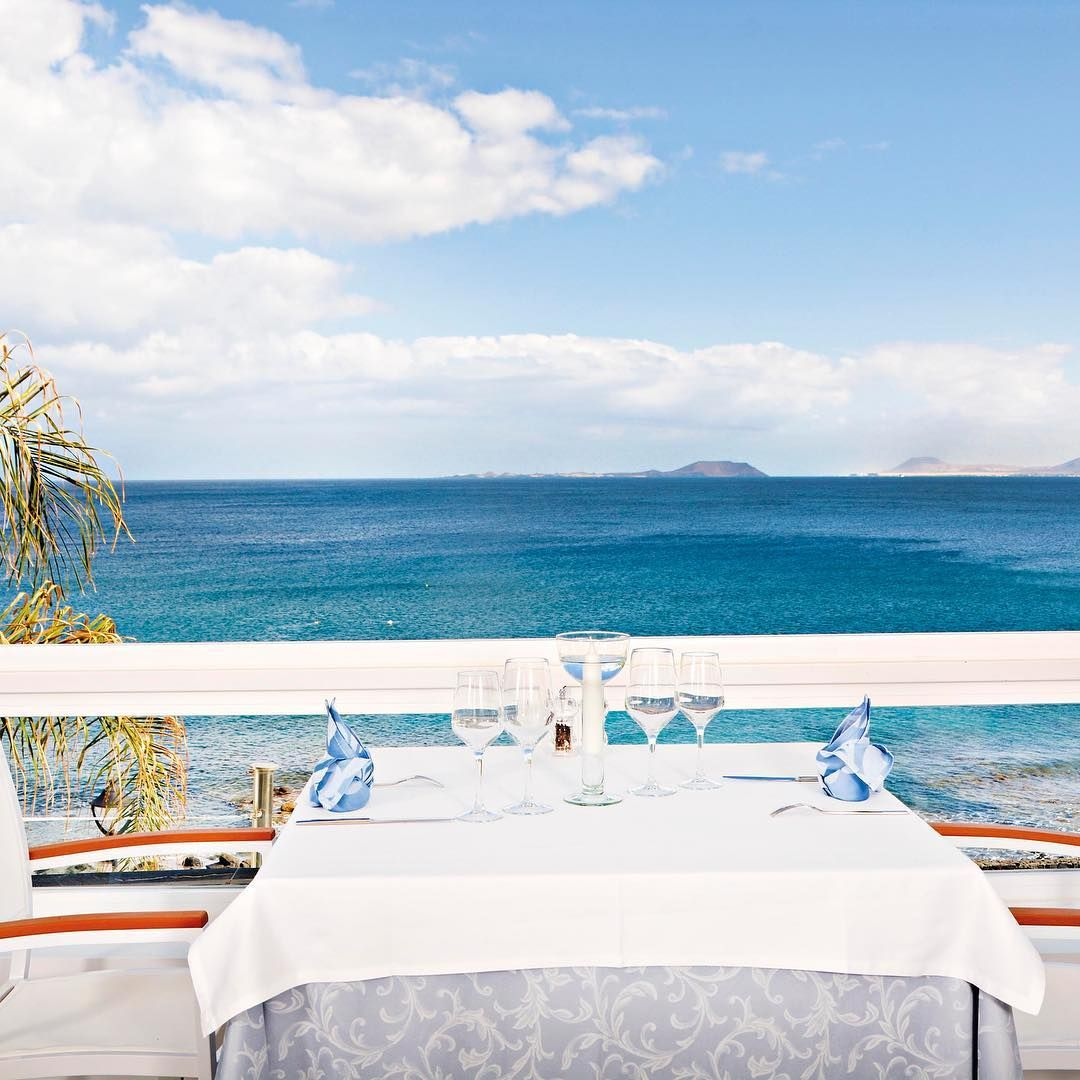 Restaurants with sea views in Lanzarote