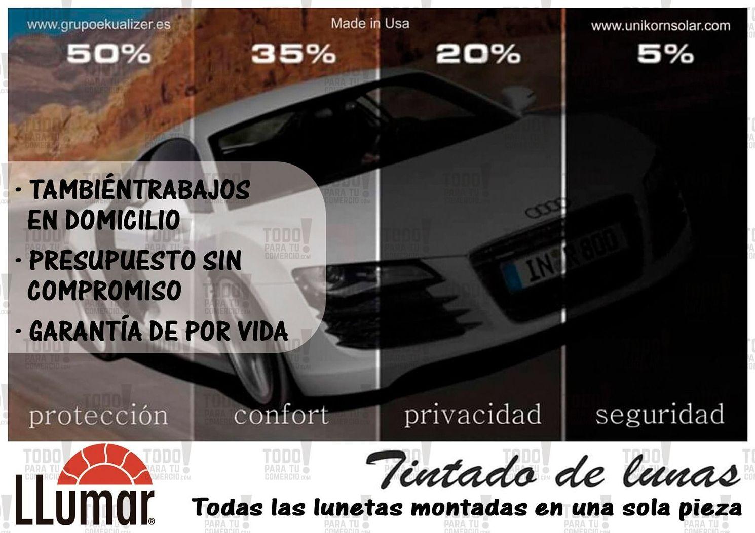 Foto 1 de Cristalería del automóvil en    Tintado de Lunas Asturias