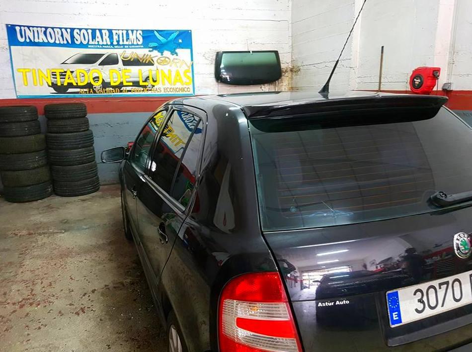 Foto 1288 de Cristalería del automóvil en  | Tintado de Lunas Asturias