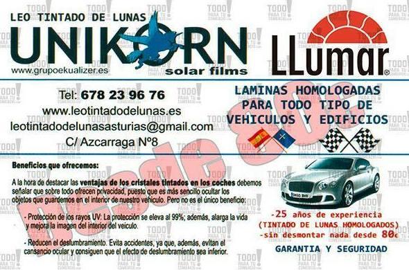 tintar lunas: tintar lunas de Tintado de Lunas Asturias