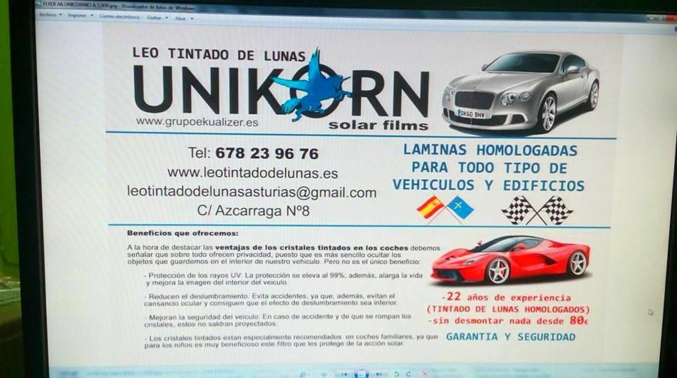 Foto 1343 de Cristalería del automóvil en  | Tintado de Lunas Asturias