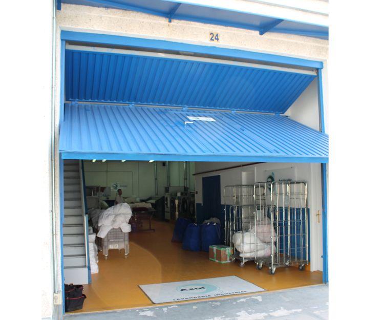Amplias instalaciones de nuestra lavandería