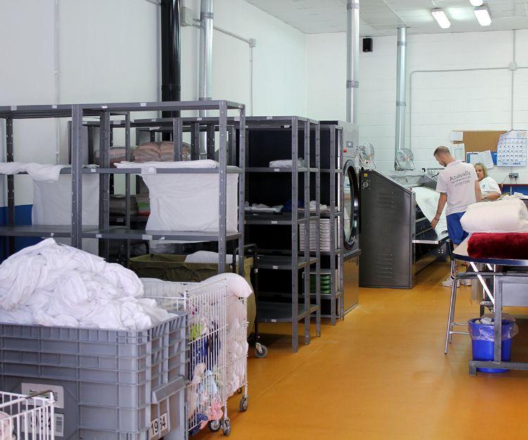 Servicio de lavandería para el sector hostelero