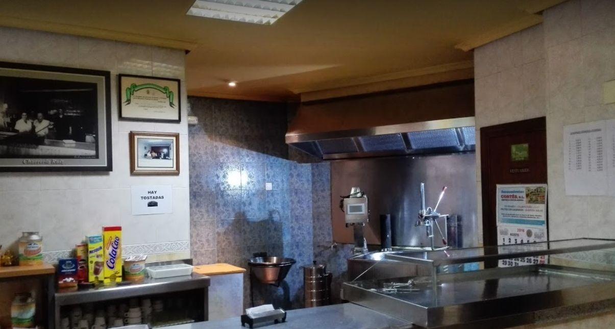 Churros y porras en Cáceres