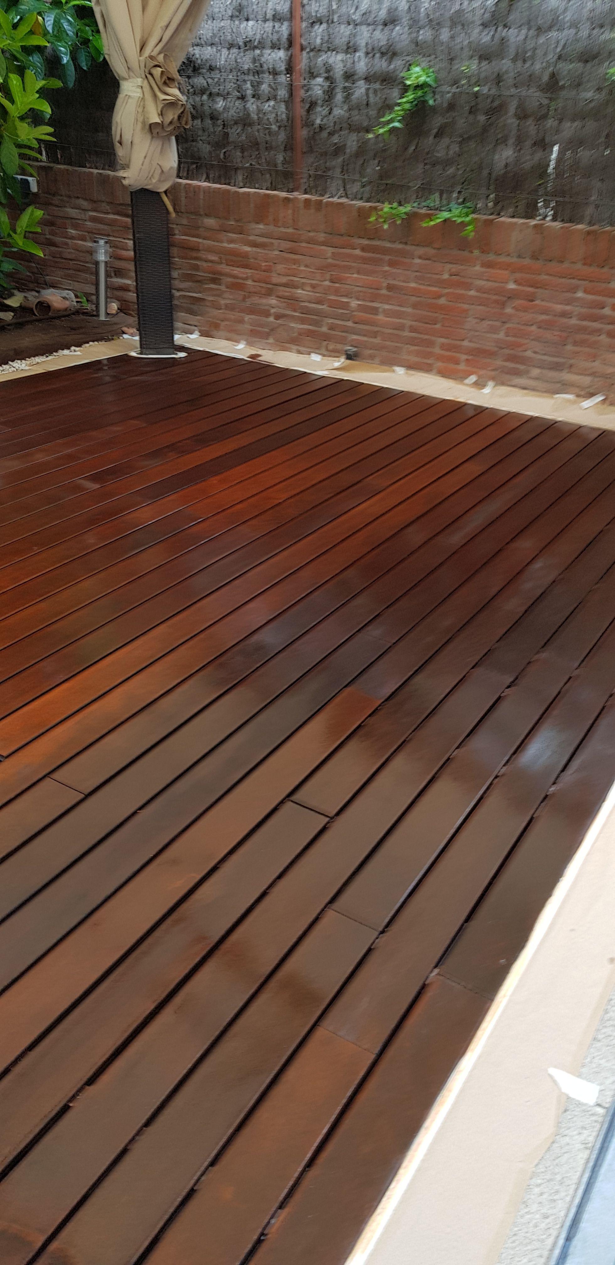 Parquet y suelos de madera: Servicios de Hugo Gregorio Molina