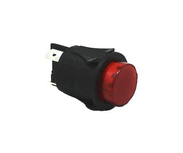 Interruptor bipolar luminoso rojo