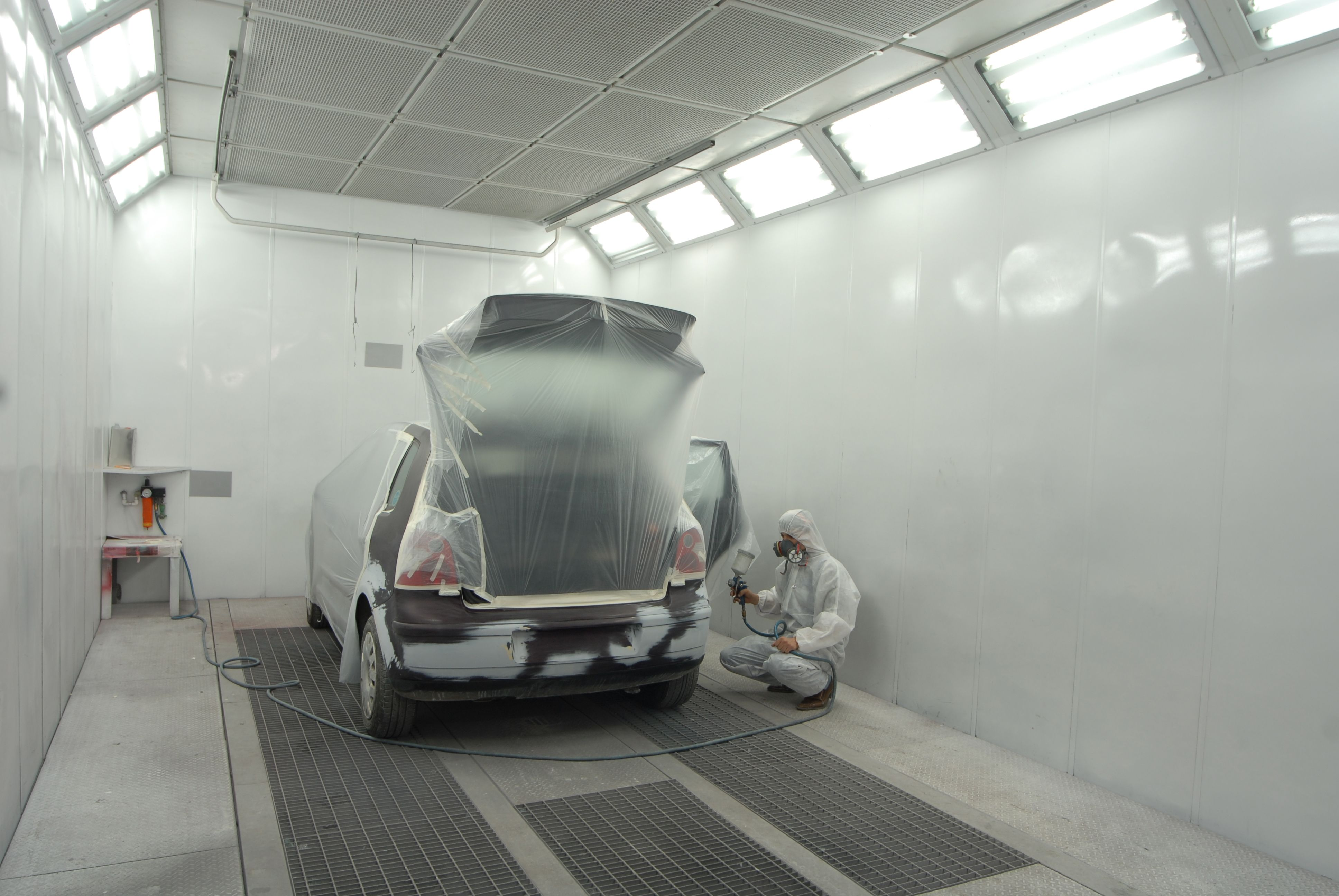 Cabina de pintura: Servicios de Talleres An-Car