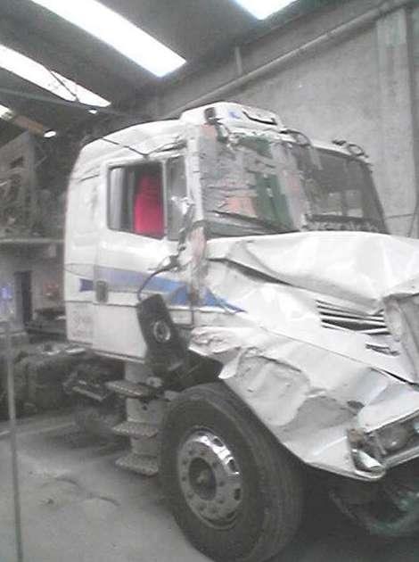Taller chapa y pintura vehículos industriales: Servicios de Talleres An-Car