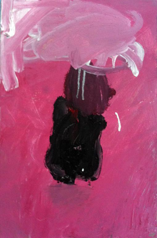Acrílico sobre lienzo. Favio. 5 años.