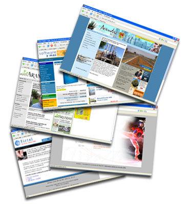 Elaboración de Páginas WEB: Productos y servicios de Vartex Informática, S.L.