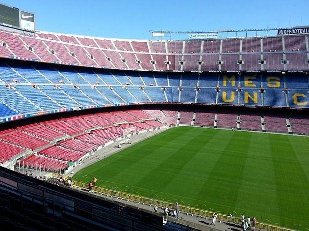 Campo de fútbol Camp Nou