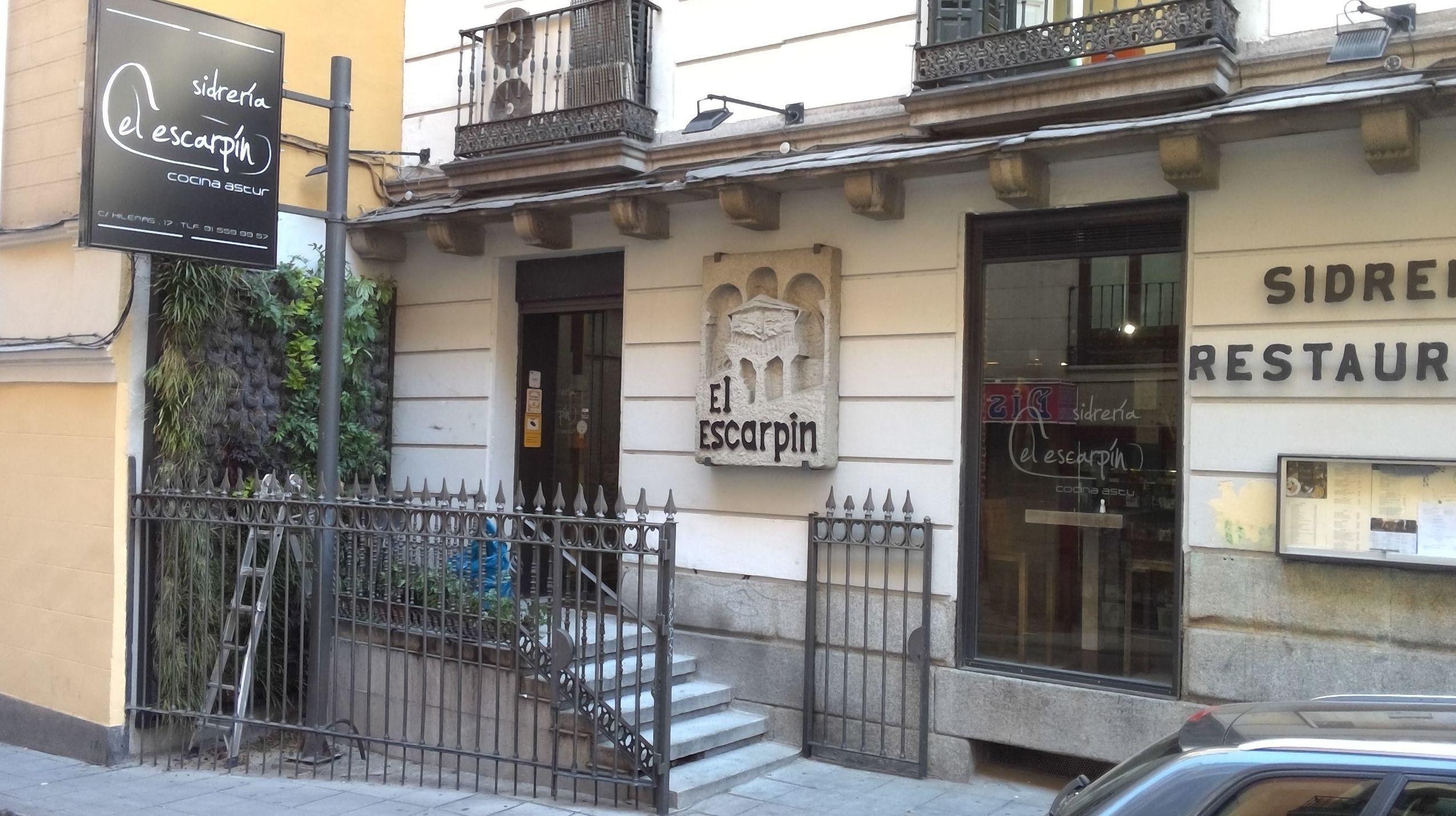 Cocina asturiana en el centro de madrid el escart n for Cocina asturiana