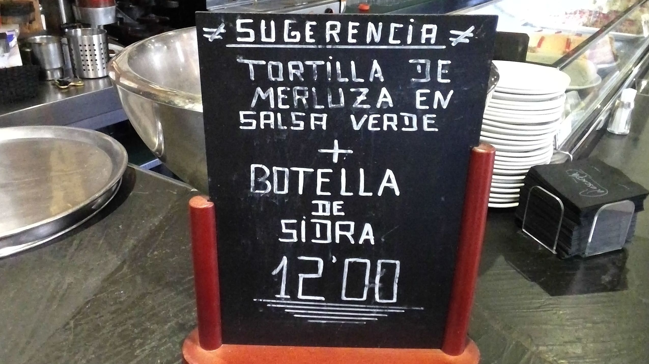 Cocina casera asturiana en Madrid