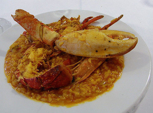 Arroces: Carta de El Escarpín