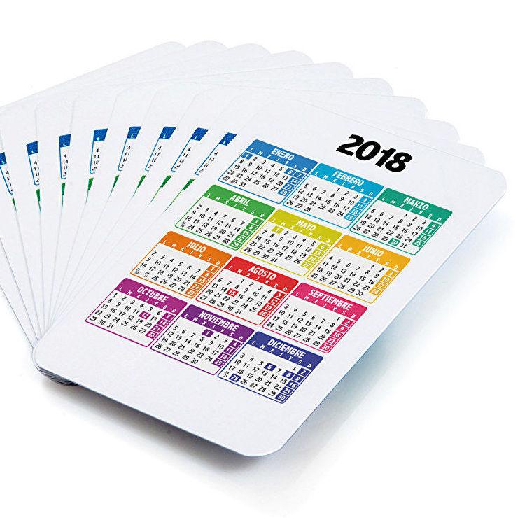 Calendarios de bolsillo Burgos