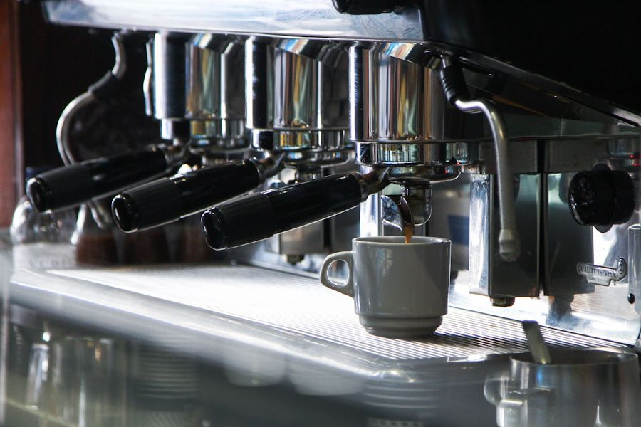 Tapas y café en Barcelona