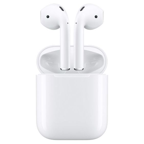 Apple Airpods. Foto extraida de la pagina de Apple.com