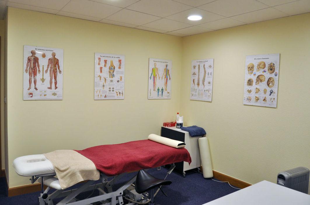 Consulta de fisioterapia y osteopatía en Bilbao