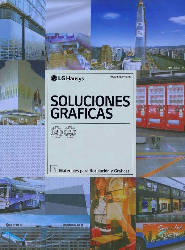 VINILOS Y LAMINADOS LG PARA IMPRESION DIGITAL
