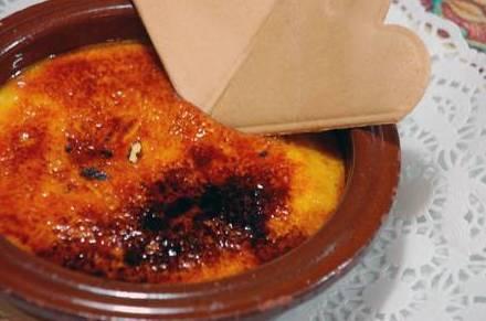 Crema catalana, uno de nuestros postres