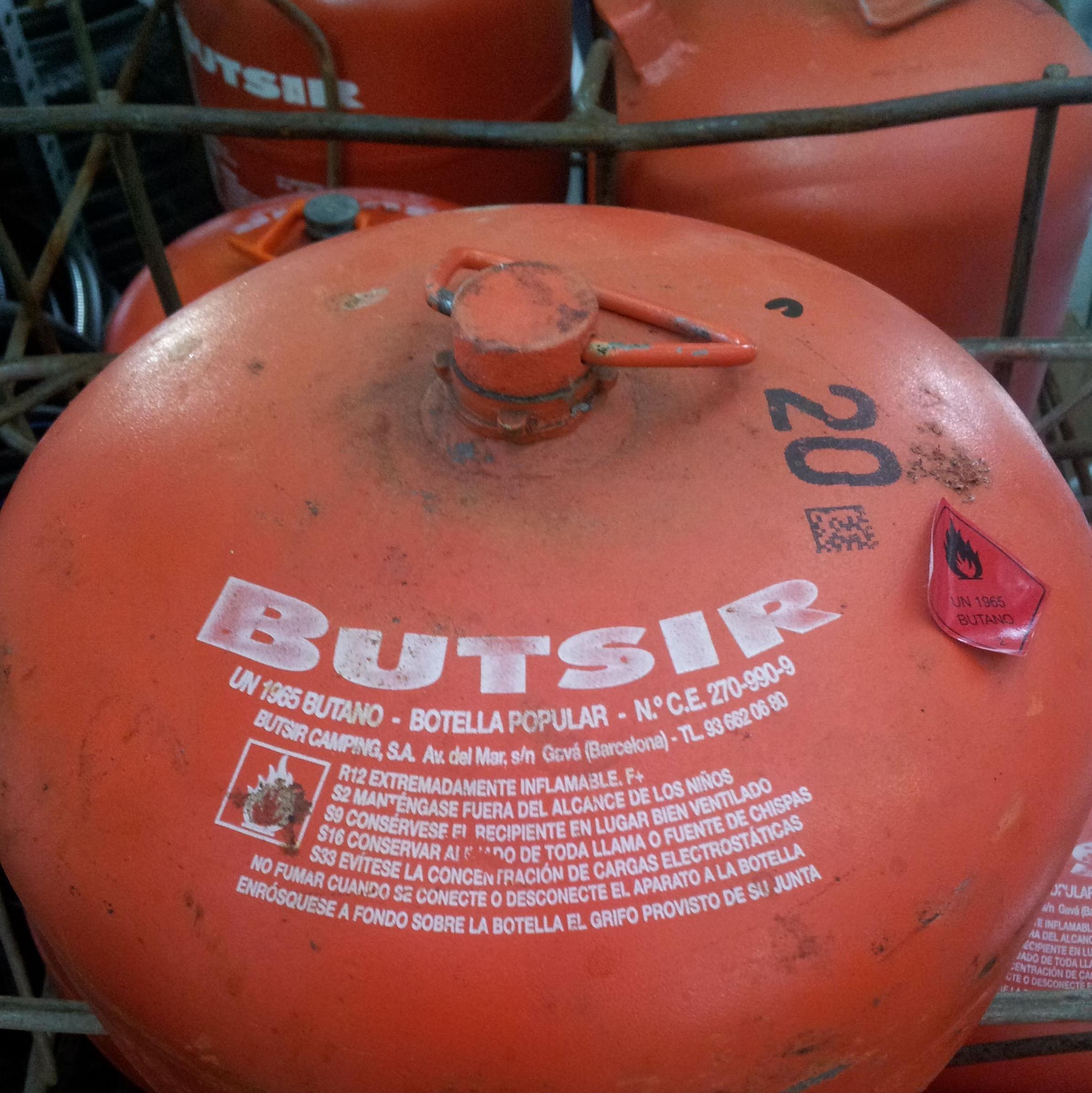 Bombonas Butsir: Productos y Servicios de Ferretería El Teide