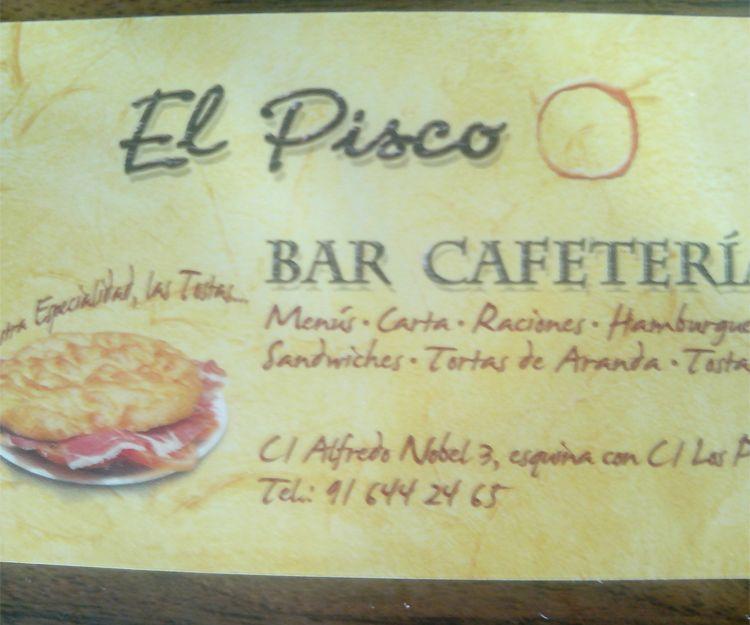 Bar cafetería en Alcorcón