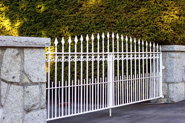Puertas de hierro forjado en Málaga