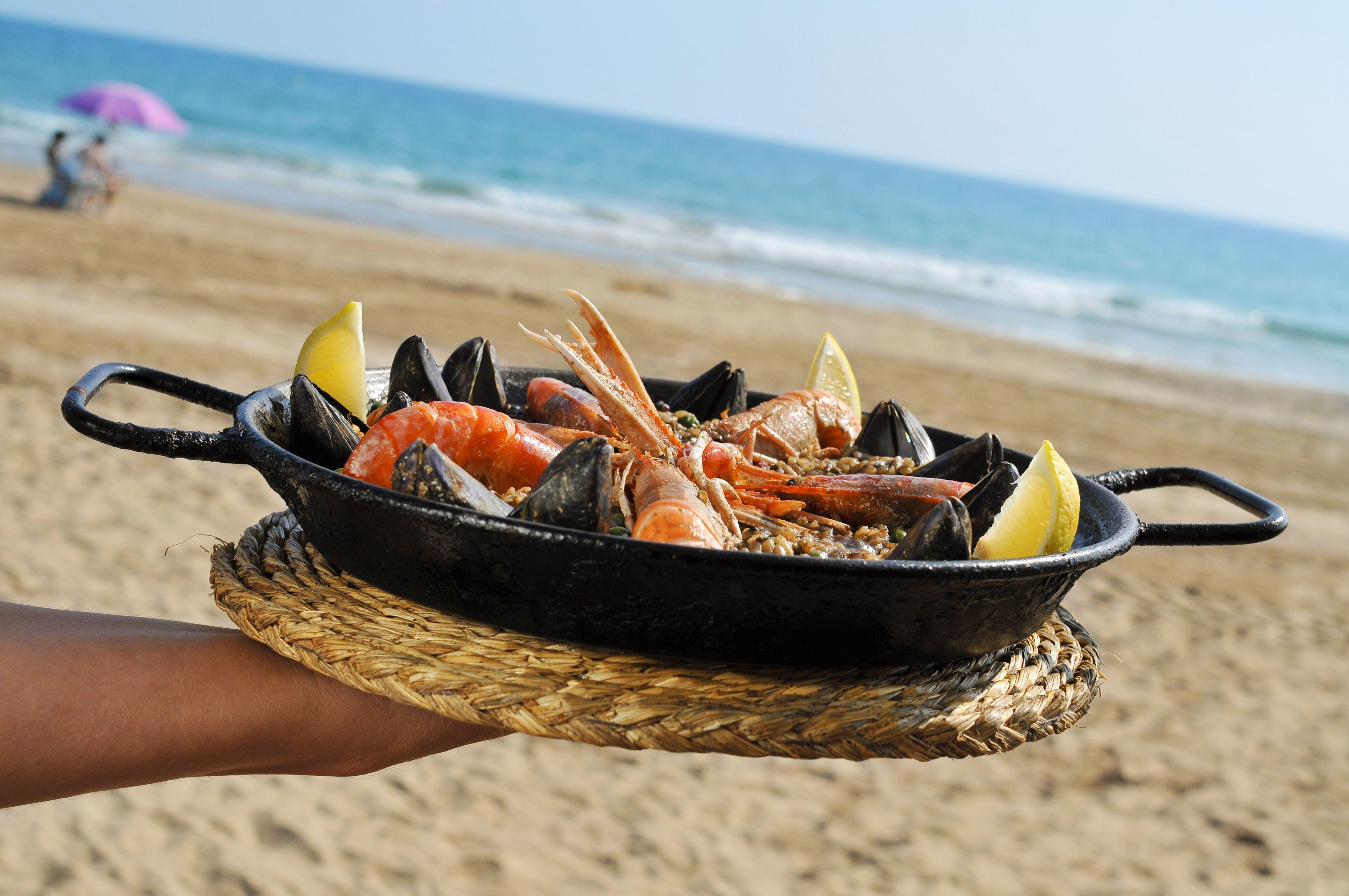 Especialidad en paellas: Menú de Restaurante Kalifato