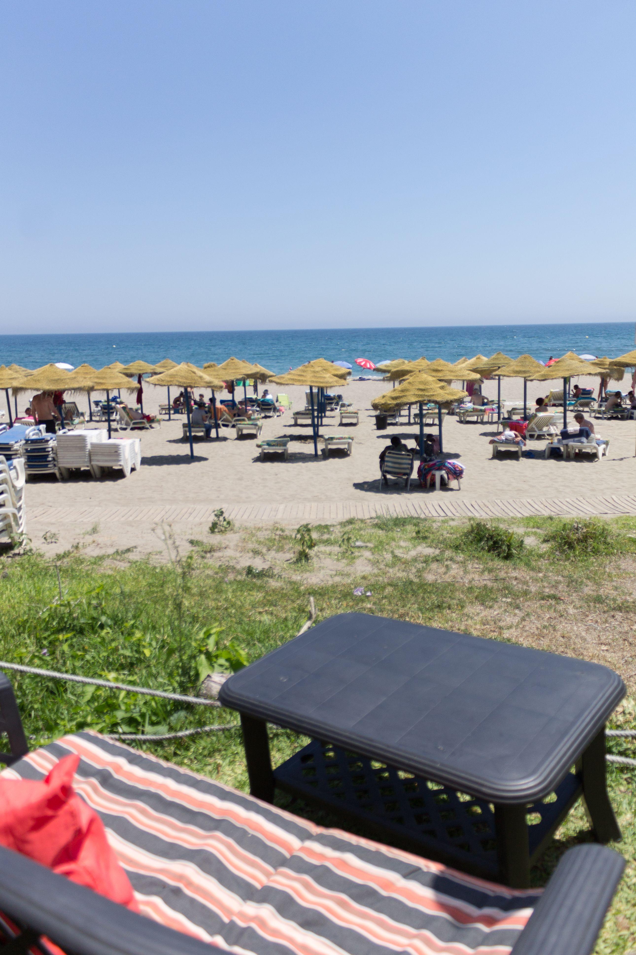 Vistas al mar del restaurante Kalifato
