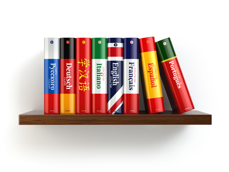 Librería especializada en libros de idiomas