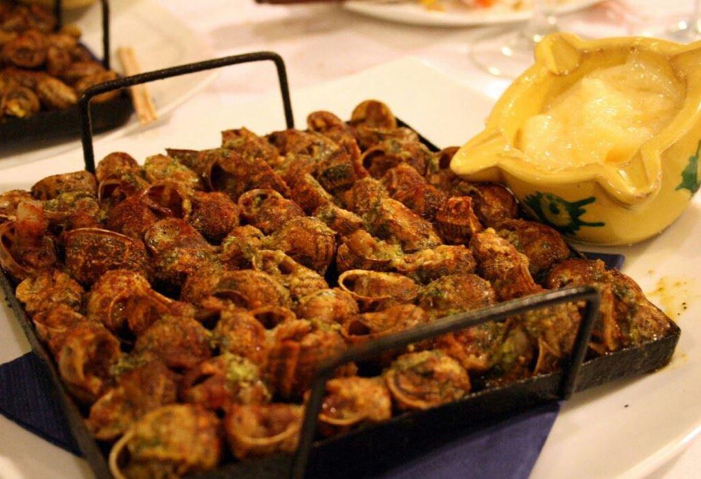 El Paller restaurante, especialidad en caracoles en Premià de Mar