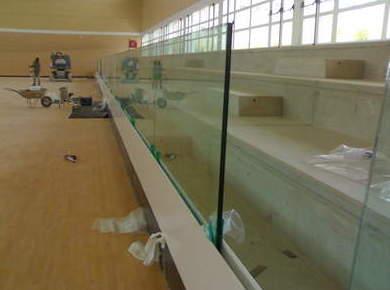 Barandillas de vidrio en Madrid sur