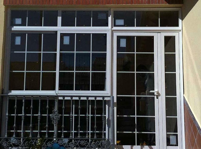 Cerrajería de aluminio, PVC, acero, cristal en Madrid sur