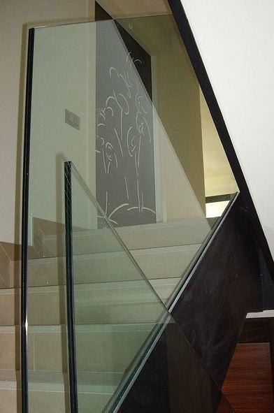 Barandillas de vidrio en Toledo