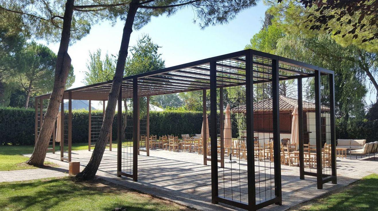 Estructura capilla Restaurante Bodas