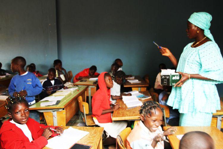 Escuelas en África