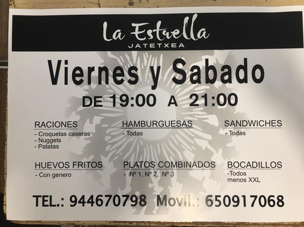 Foto 3 de Restaurante en Altzaga   Restaurante La Estrella