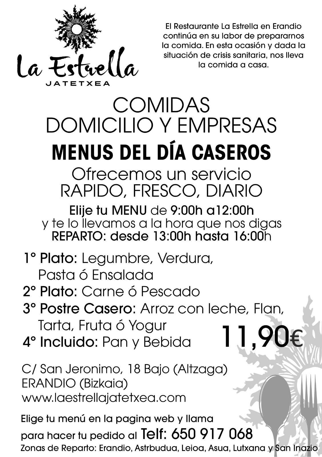 Foto 3 de Restaurante en Altzaga | Restaurante La Estrella
