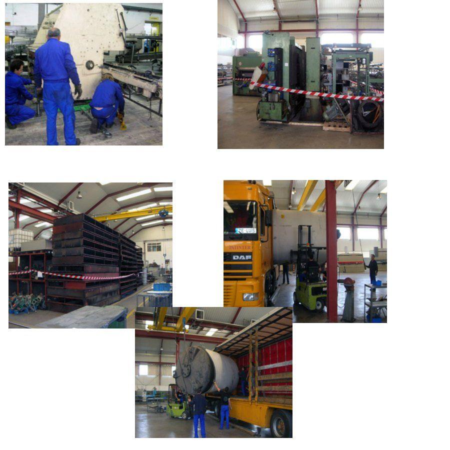 Cambio de línea y puesta en marcha: Nuestros Proyectos de COMAEM S.A.