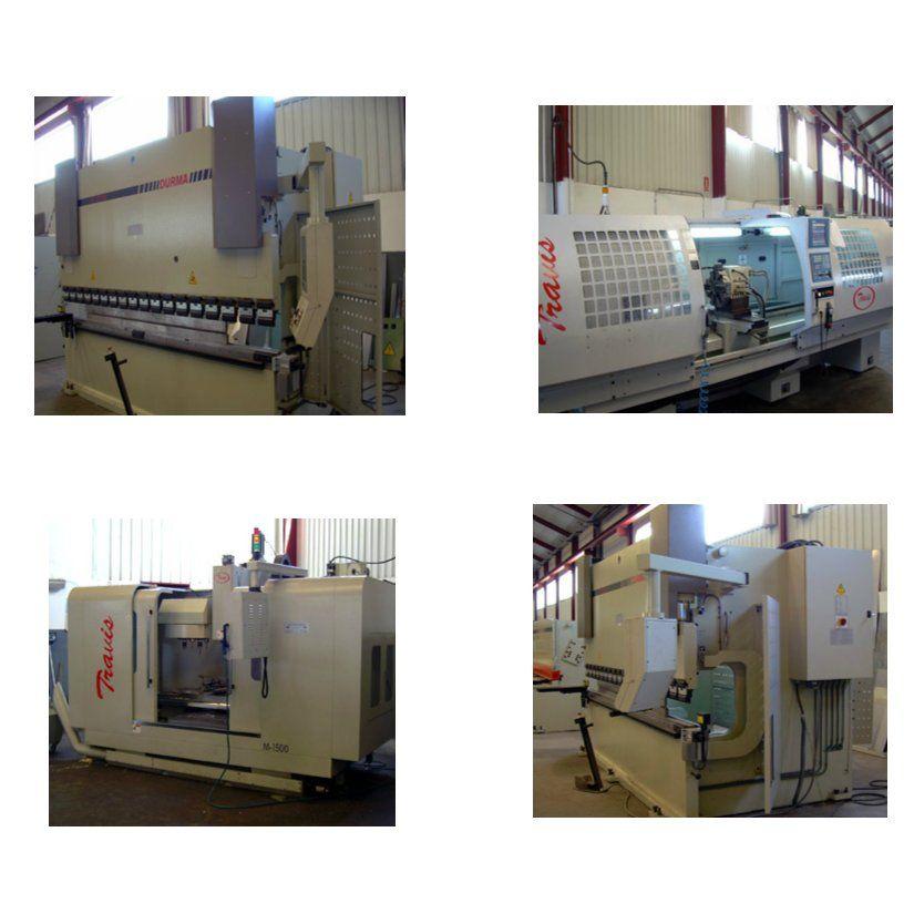 Mecanización: Nuestros Proyectos of COMAEM S.A.
