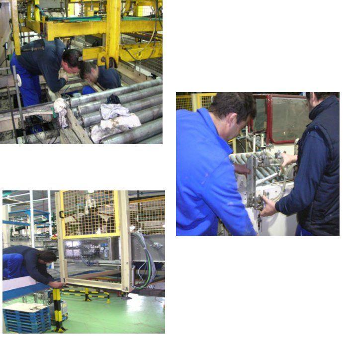 Optimización de procesos de fabricación: Nuestros Proyectos de COMAEM S.A.
