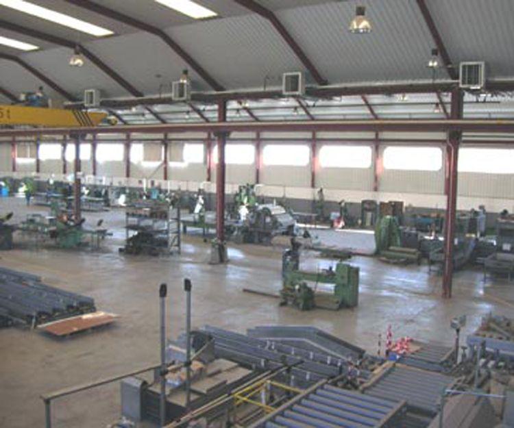 Fabricación maquinaria industrial en Ajalvir