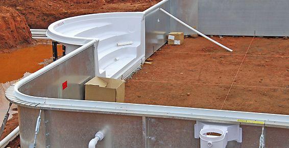 Construcción de piscinas en Tenerife Sur