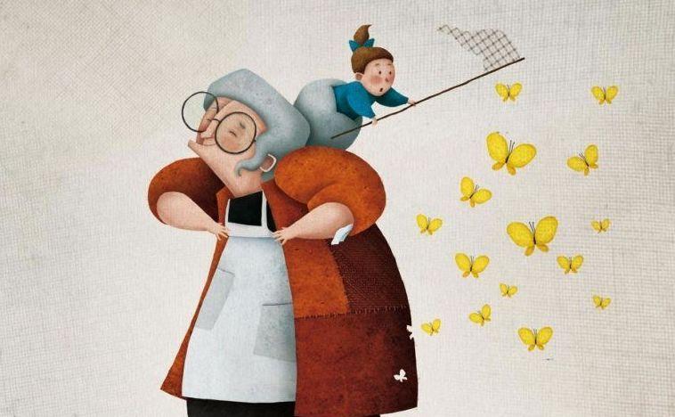 """Los abuelos, esos """"magos"""" que crean recuerdos maravillosos para sus nietos"""