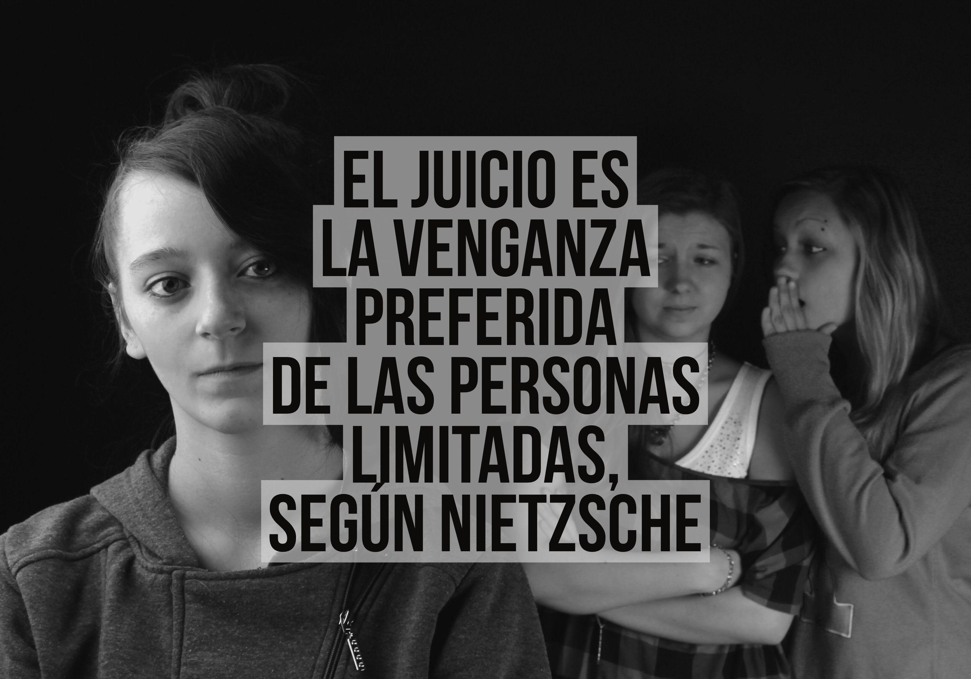 El juicio es la venganza preferida de las personas limitadas, según Nietzsche