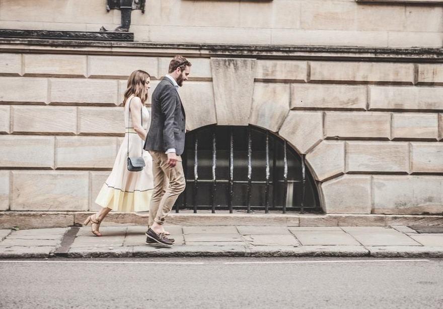 Caminar en compañía hace bien y nos ayuda a solucionar los conflictos
