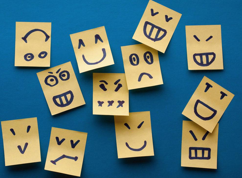 Lista de emociones y sentimientos