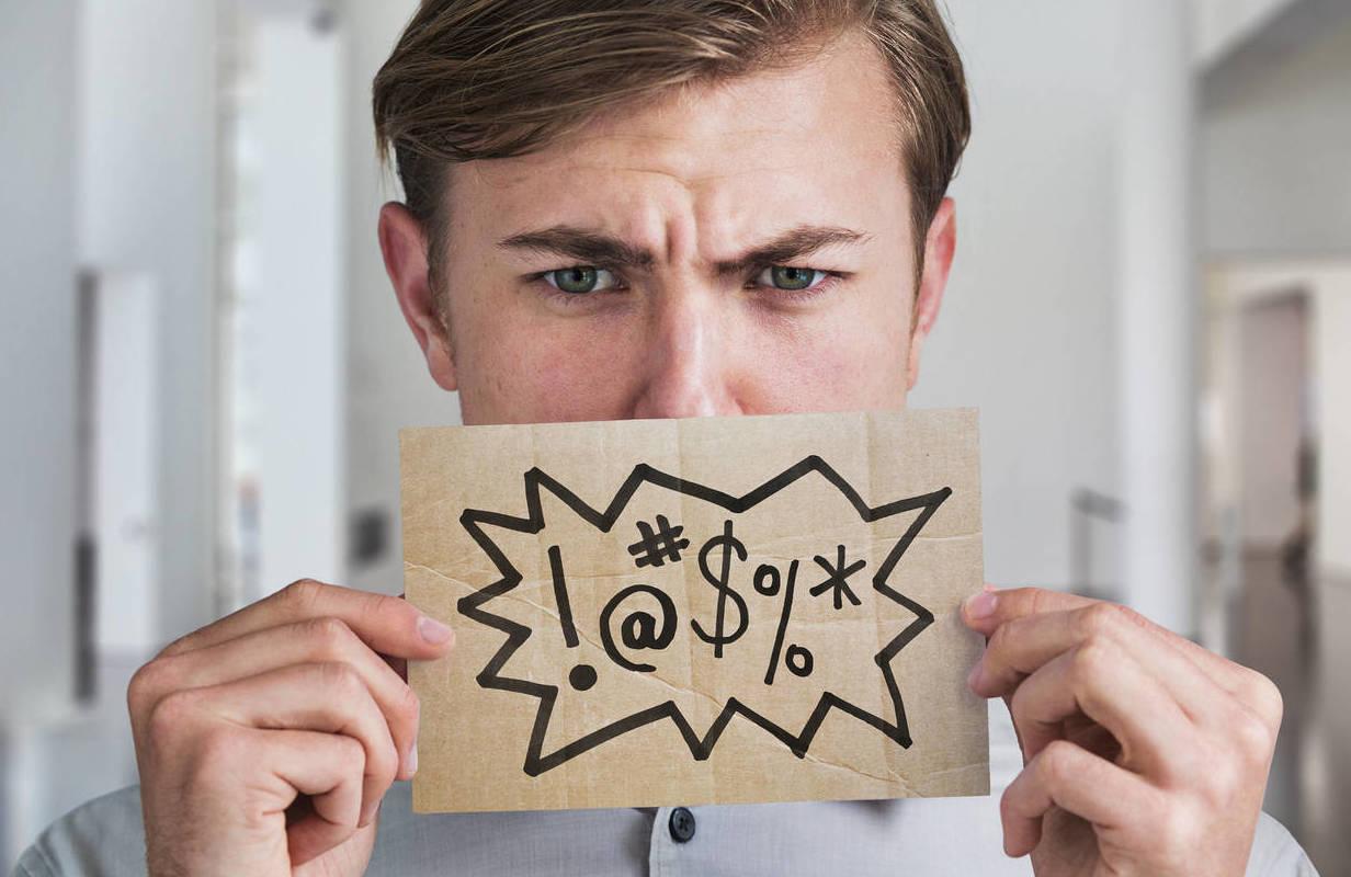 """Si se te escapan """"malas palabras"""" a menudo es porque eres una persona más sincera"""